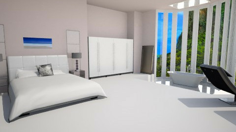 minimalism bedroom - Minimal - Bedroom  - by Georgieex