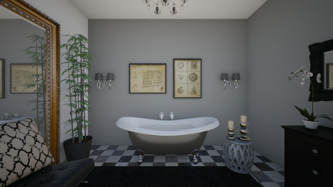 bathroom - Glamour - Bathroom  - by kledisa hasa