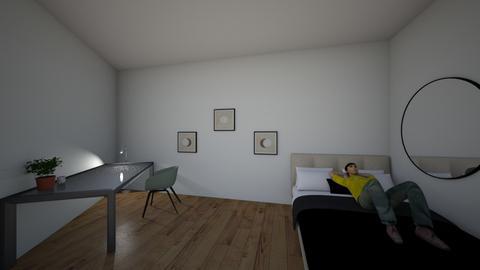 Monitores y trabajadores - Minimal - Bedroom  - by patri006