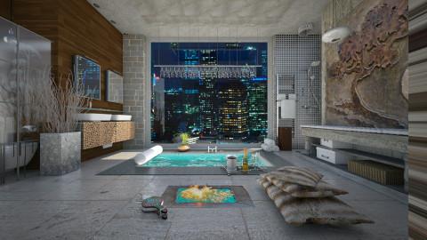 Elemental - Bathroom  - by Sama Elhendy