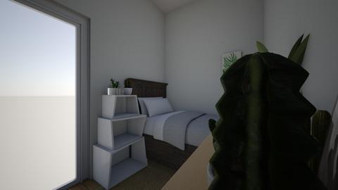 new room - Minimal - Bedroom  - by marthflem