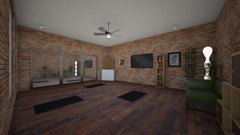 Yoga Room - Office  - by ashleycdean