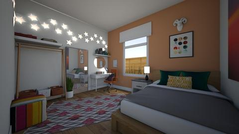 kays room - Eclectic - Bedroom  - by kay91designs