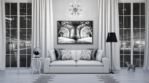 Grey Day - Living room  - by LaylaaaarrrJF