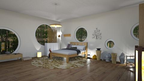 Feng Shui - Bedroom  - by Babybluewolfboo