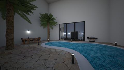 garden pool deluxe - Modern - Garden - by bo043