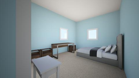 Original layout - Classic - Bedroom  - by kellylenzey