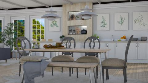 Rustic Home - Rustic - Dining room  - by millerfam