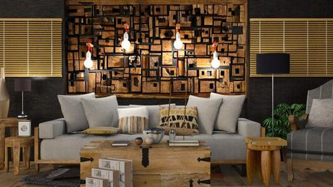 Wood - Modern - Living room  - by Gurns