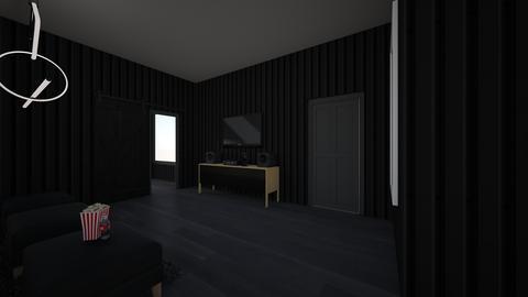 Apt entrance and tv - by saratevdoska