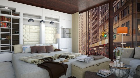 Luxury  - Modern - Bedroom - by NikolinaB26