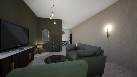 St hubertus - Living room  - by Drokz123