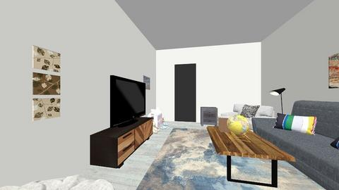 Final Project Living Room - Living room - by Katharine Ringo