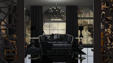 Gothic Living - Living room  - by Feeny