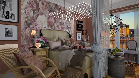 maximal bedroom  - Eclectic - Bedroom - by Ida Dzanovic
