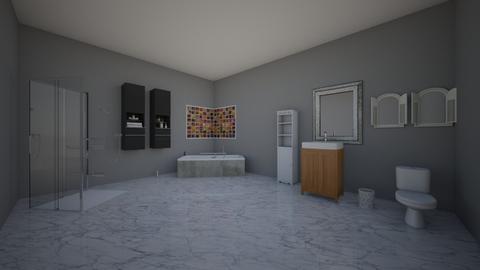 une salle de bain  - Modern - Bathroom  - by eisha97