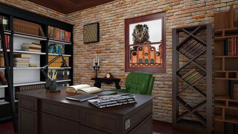 Old - Living room  - by Jane Diane