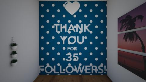 35 followerssss - by KathyScott