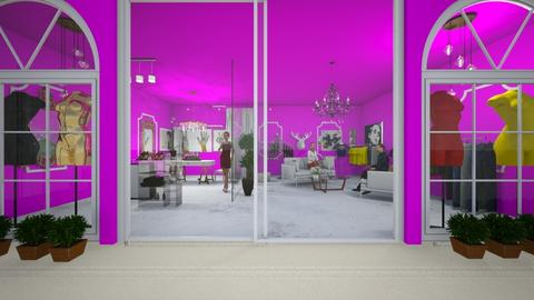 Clothing Store shnkin - Office  - by lioralili