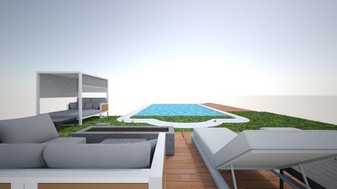 Dream outdoor space - Garden  - by brenna remy
