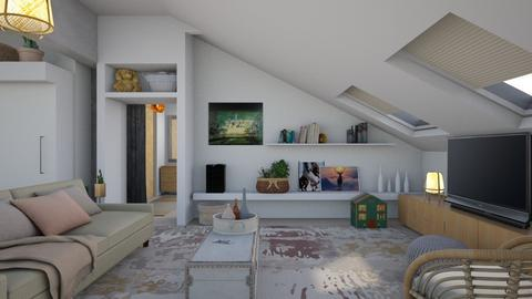 Family room - Modern - Living room  - by augustmoon