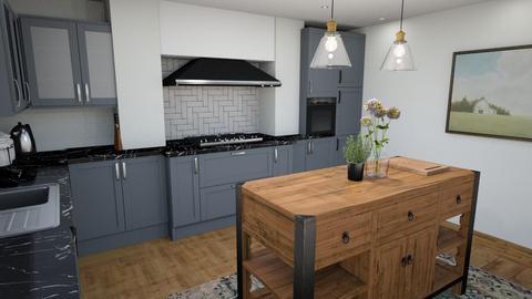 sarah kitchen - Kitchen  - by rosiefcollins