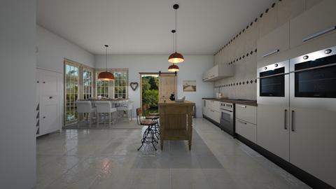 Modern Country  - Country - Kitchen  - by Irishrose58