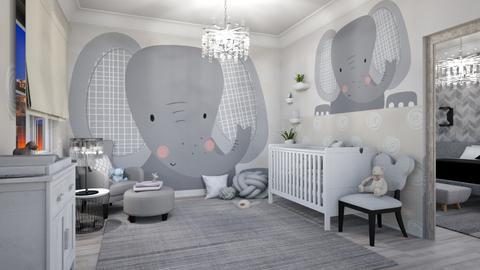 Surprise Baby Nursery - Kids room  - by matina1976