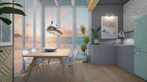 Ocean kitchen  - by Esko123