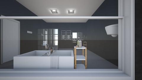 master bath - Modern - Bathroom  - by abbieberg3