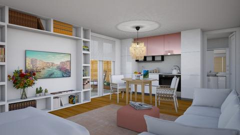 Mother_in_Law Suite - Eclectic - Living room  - by Theadora