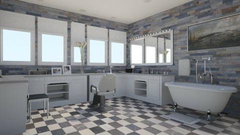 private - Minimal - Bathroom  - by nataliaMSG