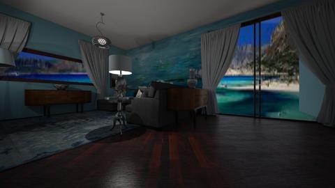 Watson 1 - Retro - Living room  - by decordiva1
