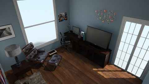 Den - Eclectic - Office  - by rbfranks