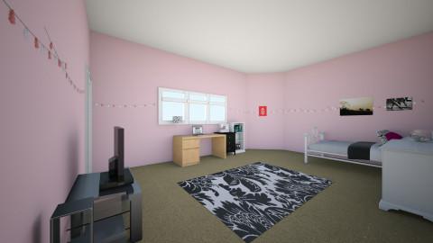 My first room - Feminine - Bedroom  - by jasmine07