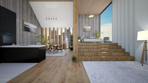 Modern Apartment - Modern - Bedroom  - by Dragonets of Destiny