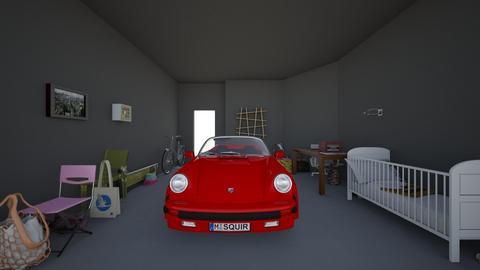 garage of junk - by catofcreatoring