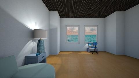 Room Contest blue - Modern - Bedroom  - by anaiss