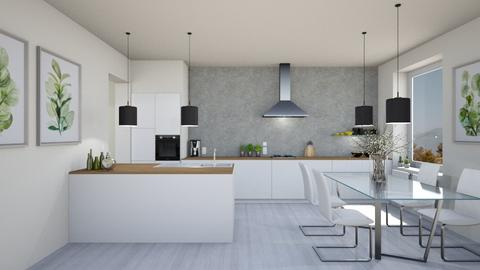 533 - Modern - Kitchen  - by Claudia Correia