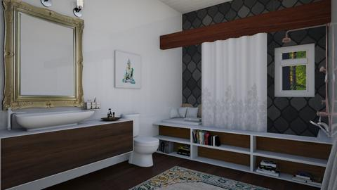 Cozy Bathroom - Eclectic - Bathroom  - by laurenpoisner