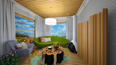 Beehive - Living room  - by emybecca