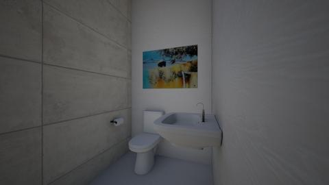 lesson 5 washroom stall 1 - Modern - Office - by Andrei1196