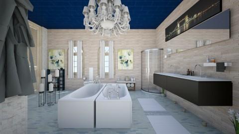 livin tiles of cash - Classic - Bathroom  - by jessie mckals