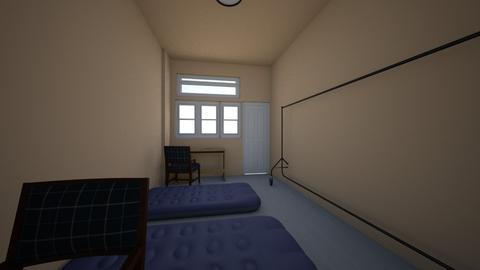 dome flat bedroom - Bedroom  - by domedhamma