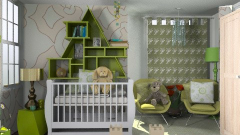 funky - Kids room  - by sarahl