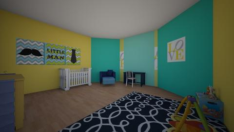 Nursery 3DONE 7_10_20 - Kids room  - by SunshineAllie