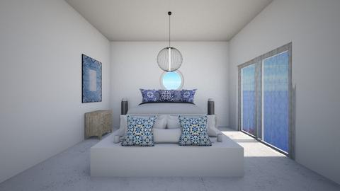 Greek Bedroom - Bedroom  - by queen c