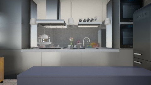 vfv - Kitchen - by marianaestefania