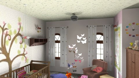 Baby Dreams - Classic - Kids room  - by sricha