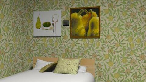 15 min challenge  - Minimal - Bedroom  - by LelaMarie Bullock